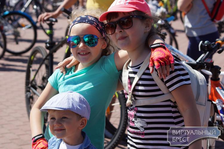 Семейный велопробег «Вместе» состоится в Бресте 8 мая