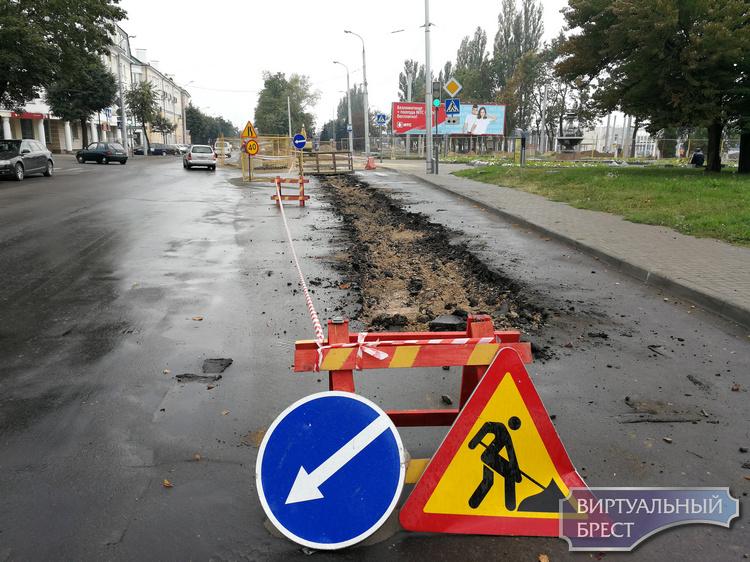 Сегодня на сутки закрыта для движения часть ул. Орджоникидзе