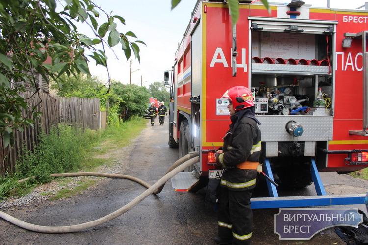В Ивацевичском районе на пожаре погибла пенсионерка