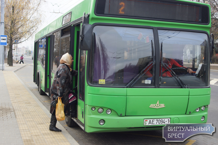 Большое количество изменений в расписании автобусов по Бресту