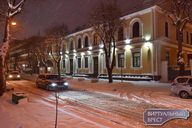 Декадная норма осадков выпала по западу Брестской области 16-17 декабря