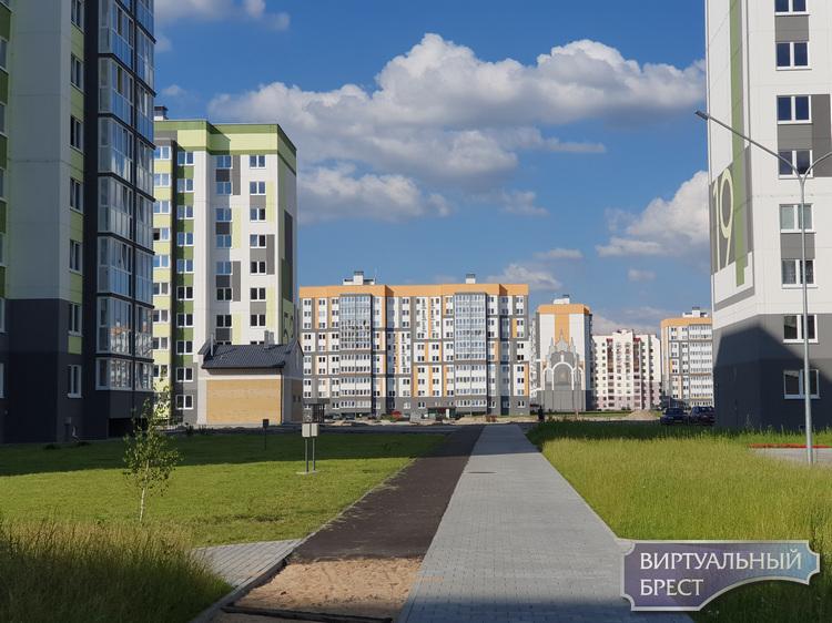 Новые улицы открыли в строящемся микрорайоне ЮЗМР-5 в Бресте