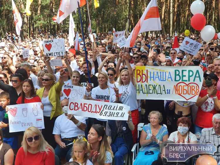 Лукашенко на примере Бреста рассказал о том, кто ходит на митинги альтернативных кандидатов