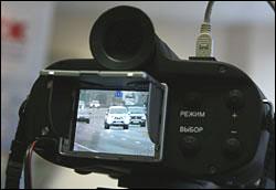 Все машины ГАИ Брестской области оснащены системами видеоконтроля