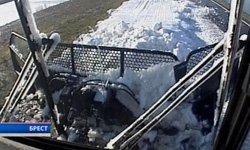 В Бресте начала работу лыжная трасса