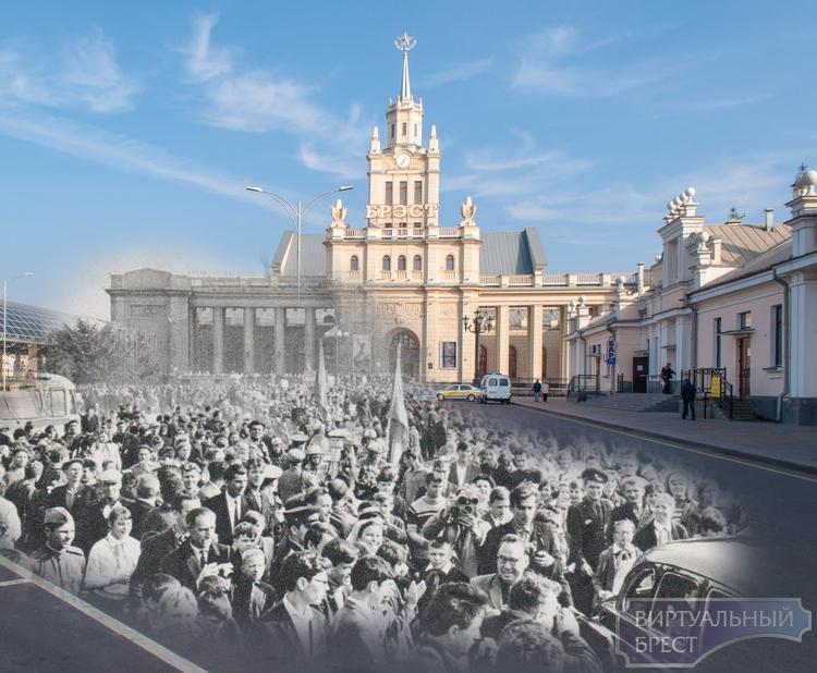 Брестский вокзал - прошлое и настоящее