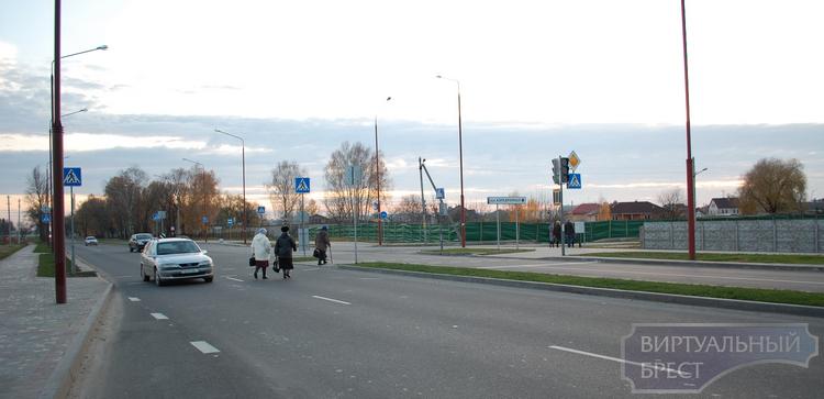 Строительство универмага в Бресте