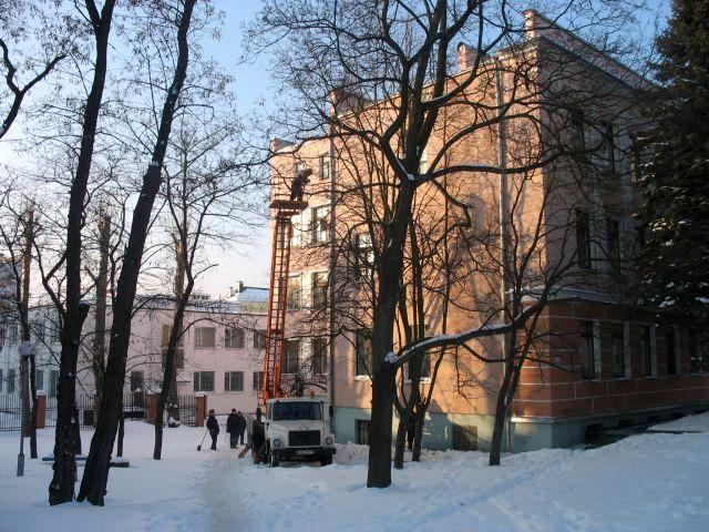 Солнечно и много снега (фотопозитив)