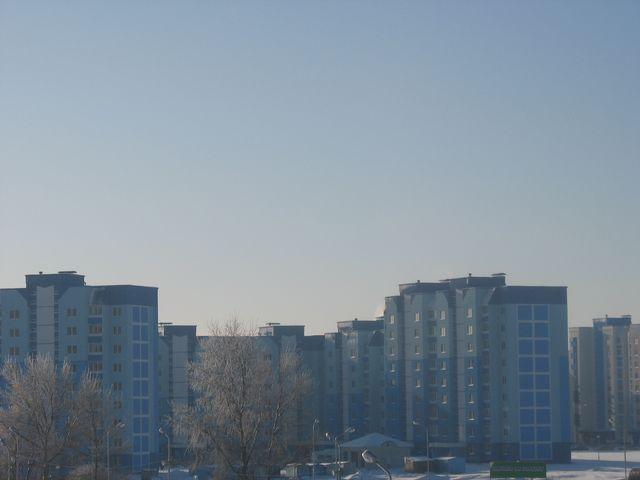 Чудесное морозное утро в Бресте (фото) 1 часть