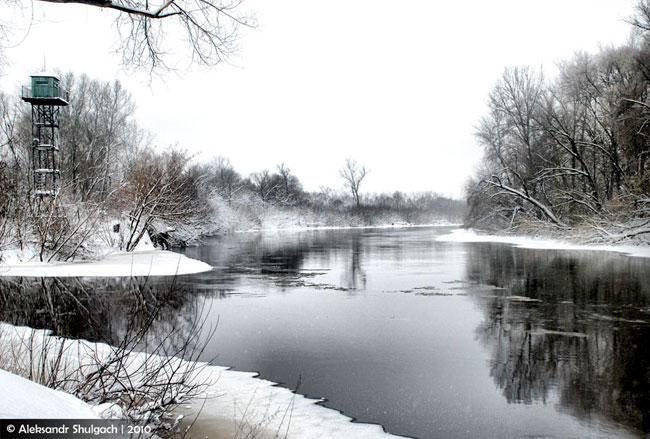 Зима в Бресте