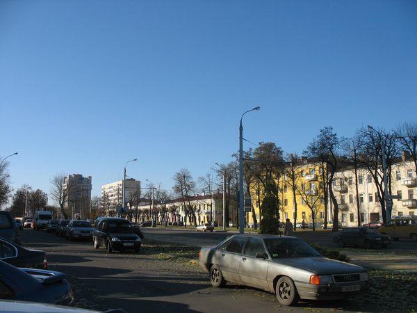 Центр города 2 ноября 2009 г. (фото)