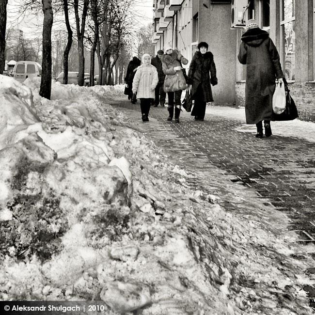 Брест, 20 градусов мороза, фотоотчет