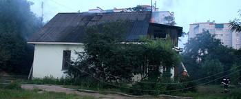 На ул. Тришинская в Бресте из-за непотушенной сигареты сгорел дом