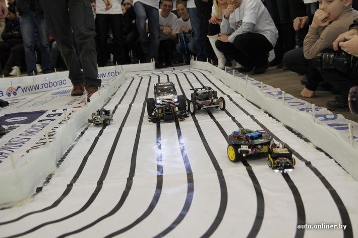 Соревнования мобильных роботов Roborace пройдут в БрГТУ