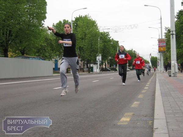 Во время проведения легкоатлетической эстафеты в городе было затруднено движение